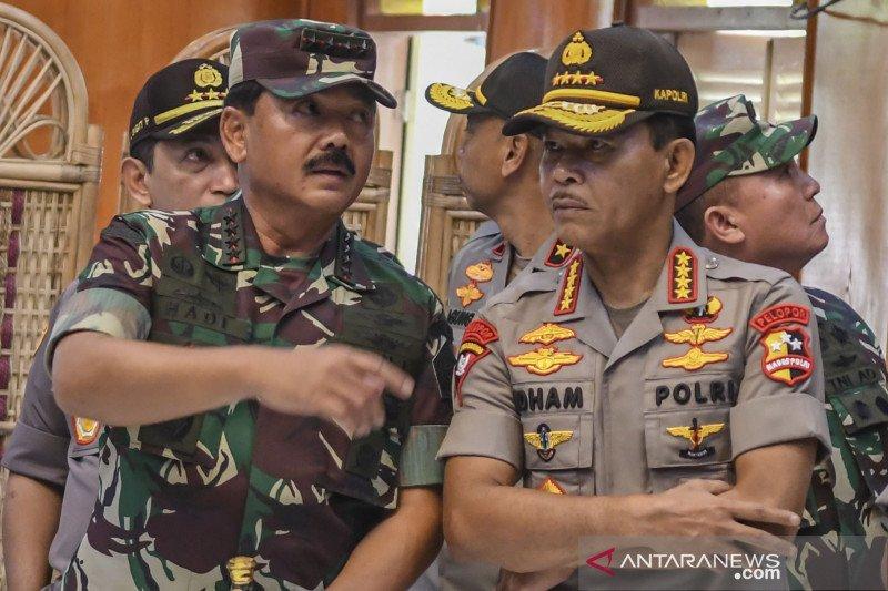 Panglima TNI-Kapolri akan sambangi Kampung Tangguh COVID-19 di Kalsel