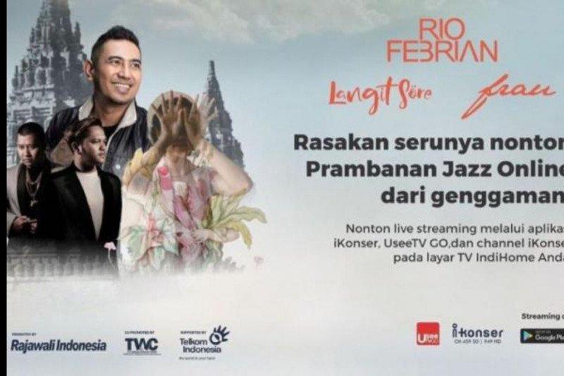 Prambanan Jazz Online, konser outdoor pertama yang digelar virtual