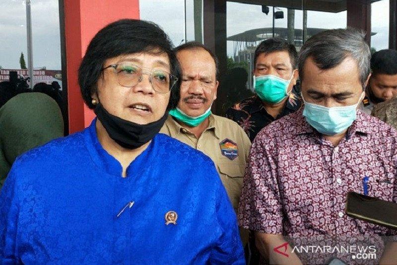 Siti Nurbaya jadikan Riau model pencegahan karhutla permanen nasional