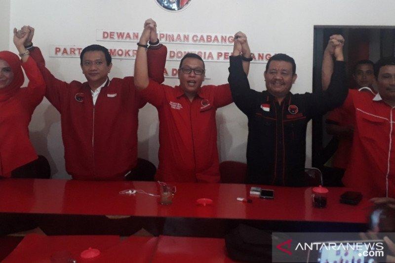 PDI Perjuangan resmi mengusung Pradi dan Afifah di Pilkada Depok 2020