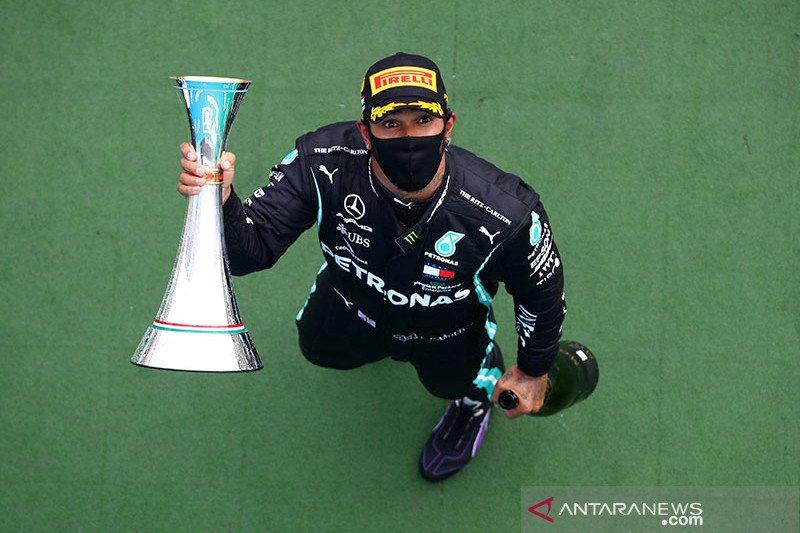 Hamilton tampil dominan untuk juarai GP Hungaria ke-8 kalinya