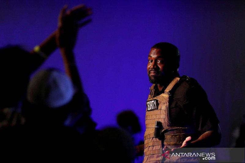 Kanye West berutang 6 juta dolar AS untuk kampanye calon presiden