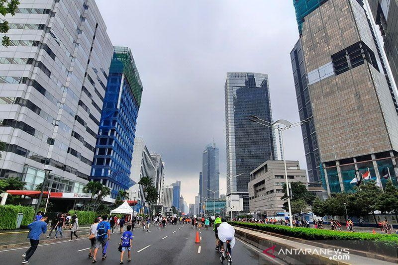 Wilayah Jakarta diperkirakan cerah berawan pada siang hari