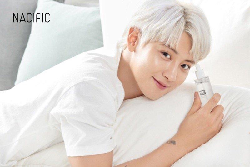 Chanyeol jadi model untuk produk Nacific
