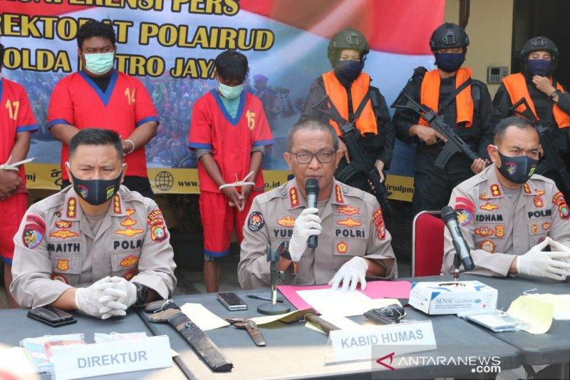 Perompak di perairan Jakarta kejahatan terorganisir