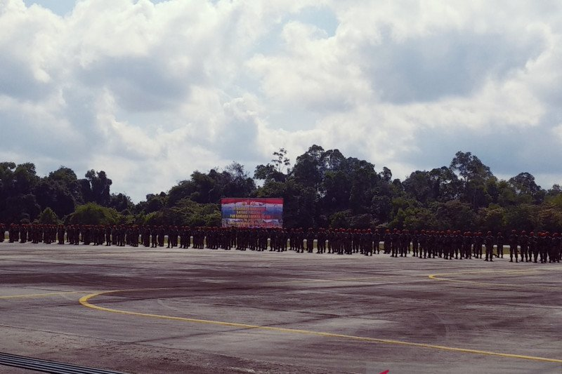 220 prajurit Paskhas 462 selesaikan misi pengamanan di Papua