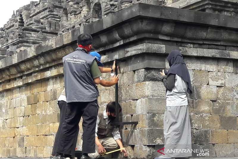 BKB rutin lakukan pengukuran stabilitas bangunan Candi Borobudur