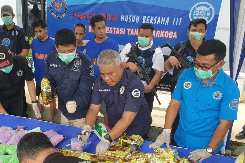 BNN Sumsel kembangkan pengungkapan jaringan pengedar narkoba Malaysia