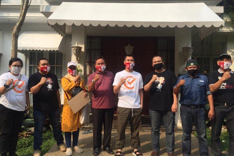 KPU Depok datangi rumah beberapa artis dan publik figur lakukan coklit