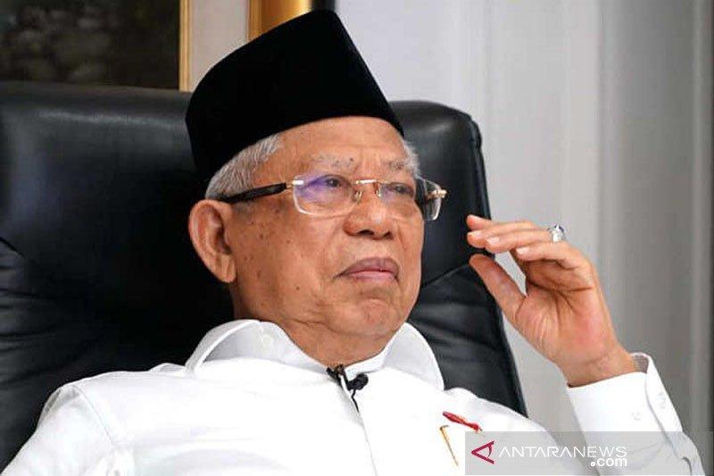 Ma'ruf Amin dorong perubahan aset bank konvensional ke syariah