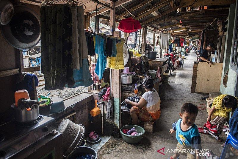 Penduduk miskin Jakarta terendah kendati alami peningkatan