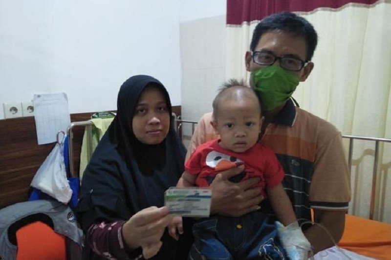 Satu keluarga di Cilegon terlindungi JKN-KIS saat sakit
