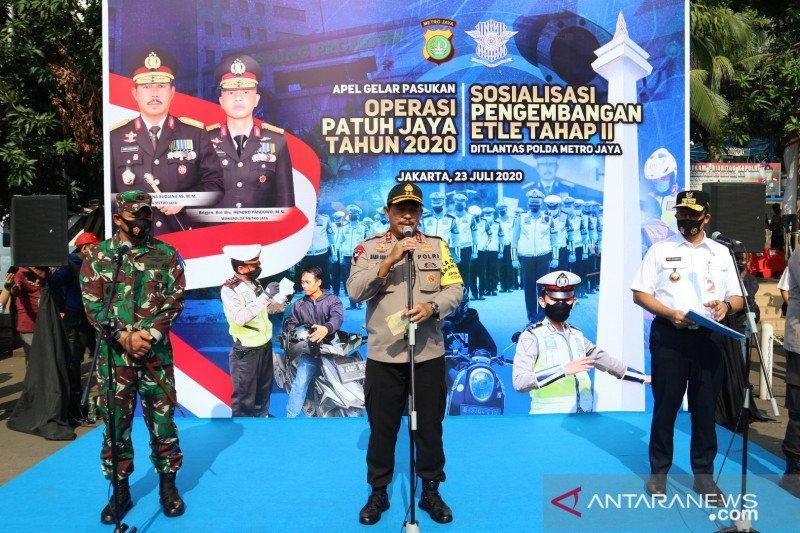 Polda Metro kerahkan 1.807 personel gabungan saat Operasi Patuh Jaya