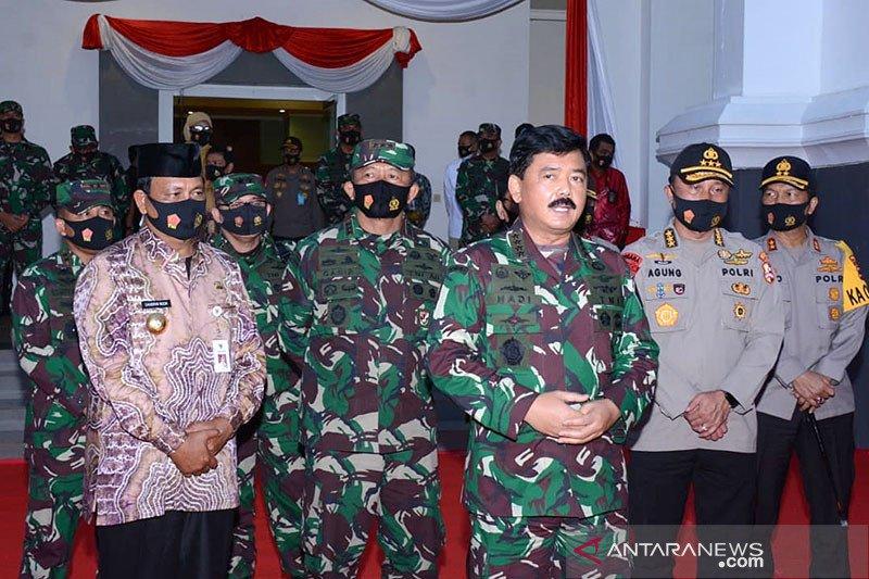 Panglima TNI apresiasi masyarakat patuhi protokol kesehatan