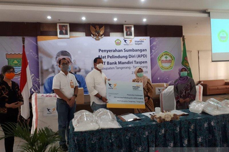 Jumlah pasien dirawat di RSUD Kabupaten Tangerang menurun
