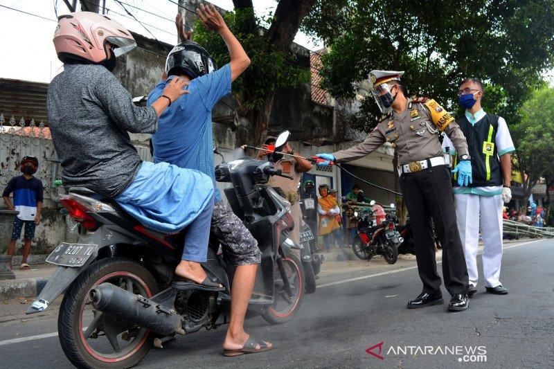 Pelanggar protokol kesehatan di Jawa Timur diganjar tilang elektronik