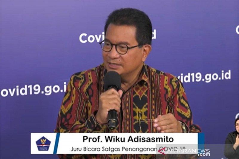 Kasus meninggal akibat COVID-19 di Indonesia menurun