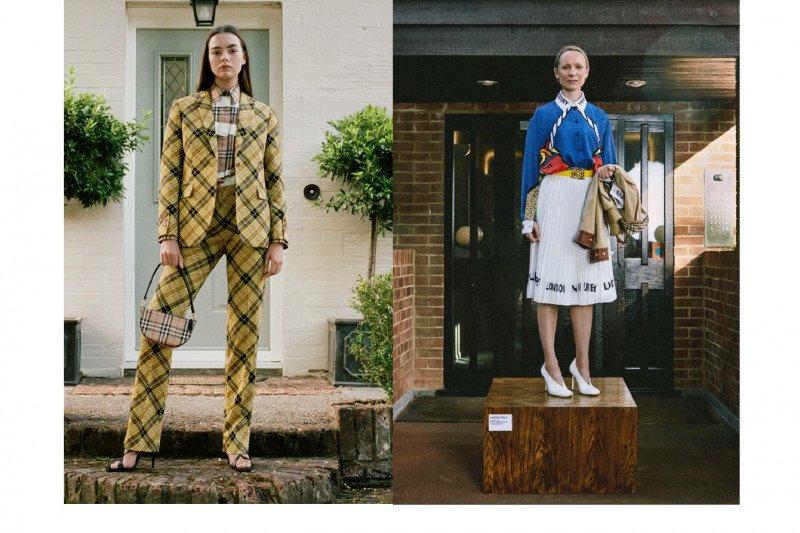 Burberry jadikan stafnya sebagai model untuk koleksi terbaru