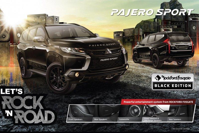 Mitsubishi kembali hadirkan edisi khusus Pajero Sport Rockford Fosgate - ANTARA News Sumatera Barat