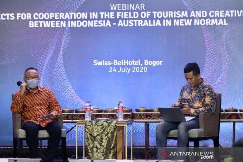 Kemenparekraf-Australia perkuat kerja sama pariwisata di adaptasi baru