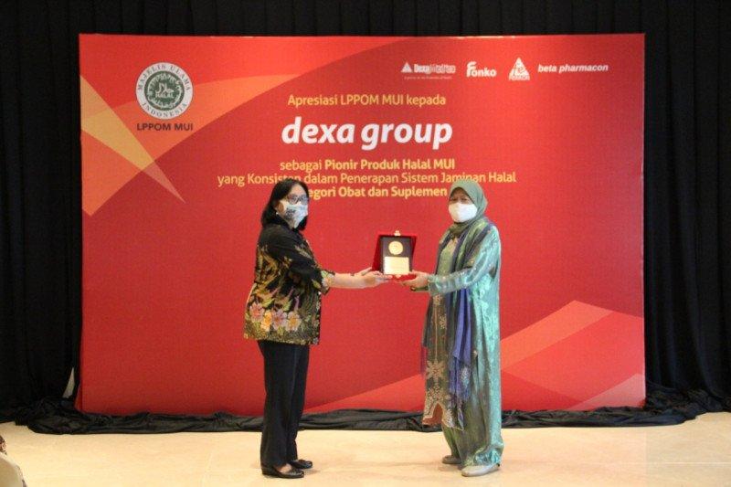 MUI beri penghargaan Dexa terapkan sistem jaminan halal