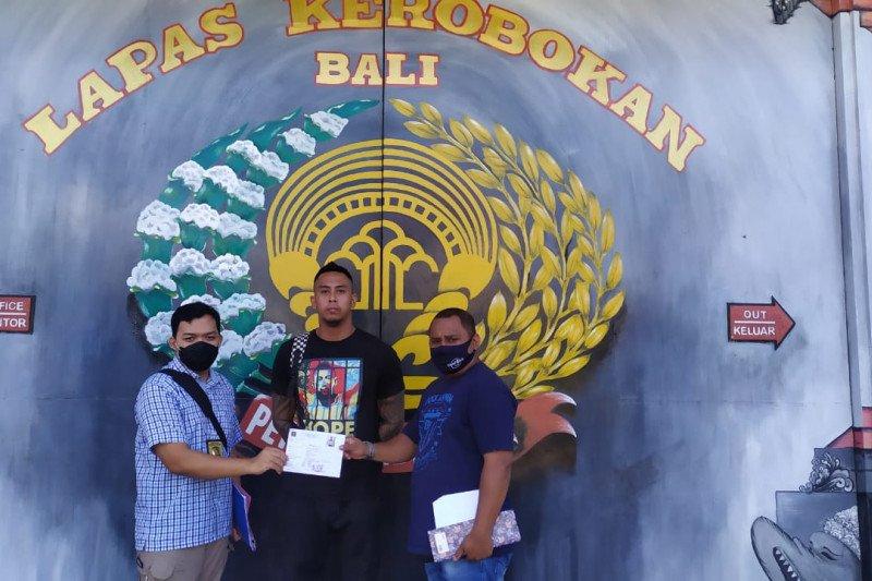 WN Australia kasus narkotika bebas dari Lapas Kerobokan-Bali