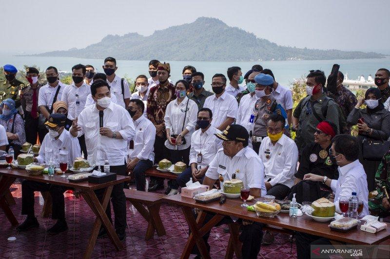 Tiga Menteri dukung percepatan pengembangan wisata terpadu Bakauheni