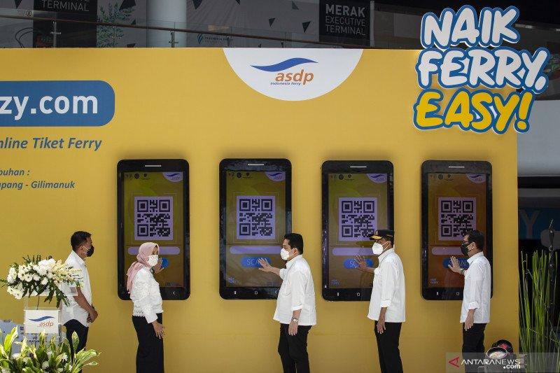 Menhub apresiasi kinerja ASDP layani tiket secara daring