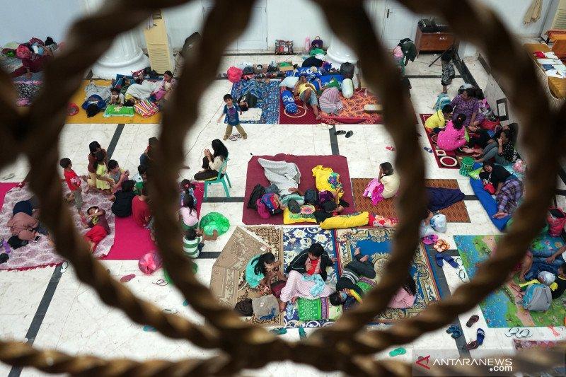 Ahli epidemiologi: Waspadai potensi penularan COVID-19 di pengungsian