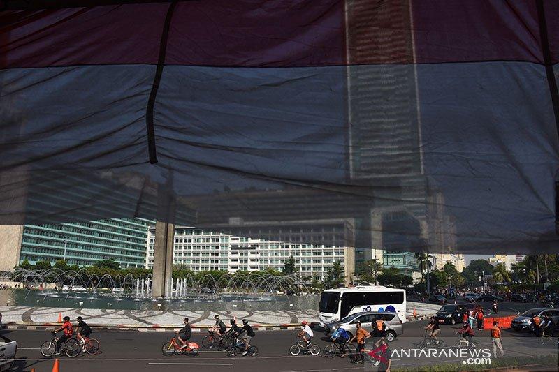 Pemkot Jakpus perluas kawasan khusus pesepeda di Kecamatan Gambir
