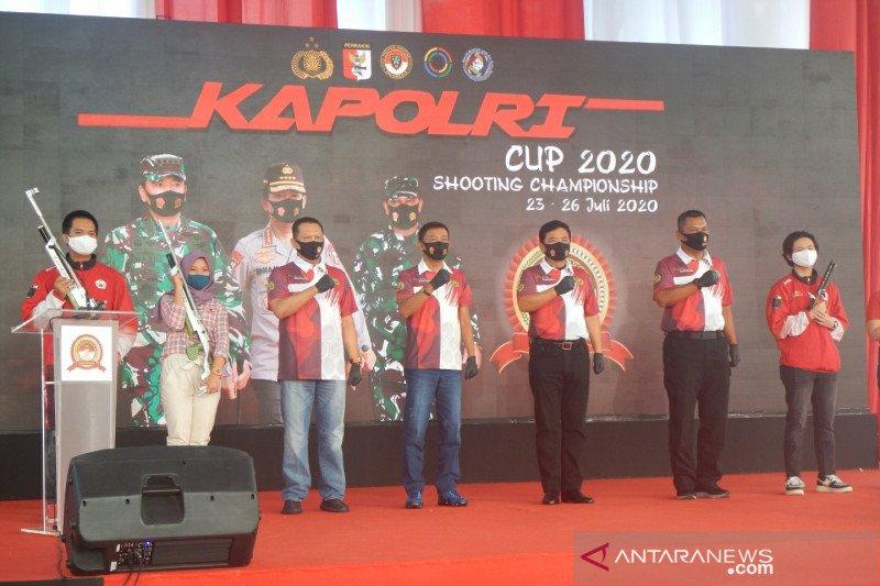 Kapolri harap Kapolri Cup munculkan bibit penembak profesional