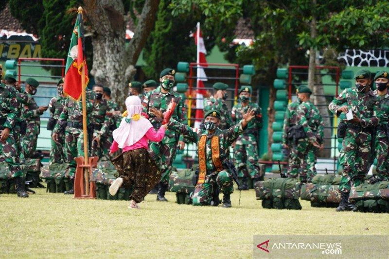 Bupati Garut sambut kepulangan 448 prajurit pengamanan perbatasan RI