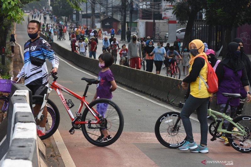 32 Kawasan Khusus Pesepeda di Jakarta ditiadakan mulai Ahad lusa