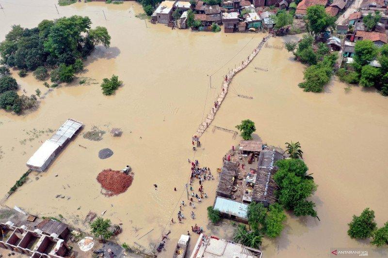Banjir di India timur