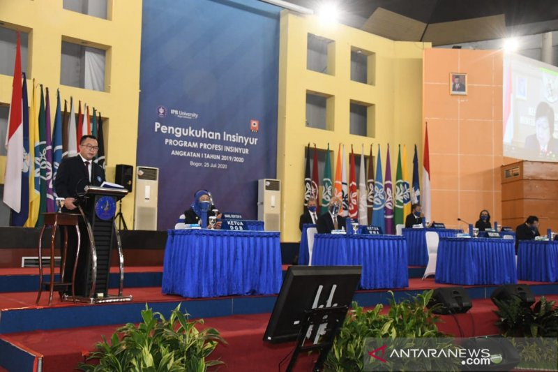 Kukuhkan 434 insinyur, Rektor IPB ingin lulusan jadi SDM unggul