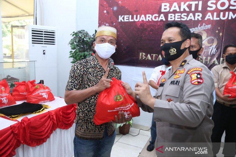 Akpol 1991 salurkan 1.000 paket Sembako untuk warga Jakarta Utara