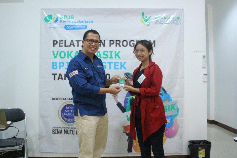Vokasi Asik gratis untuk korban PHK digelar BPJAMSOSTEK