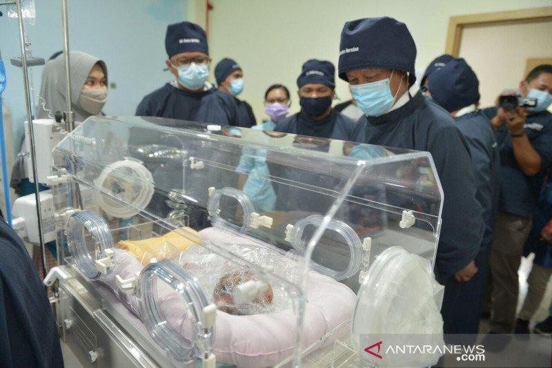 Kulit bayi penderita