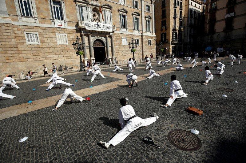 Spanyol catat 31.428 kasus tambahan COVID-19 sejak Jumat