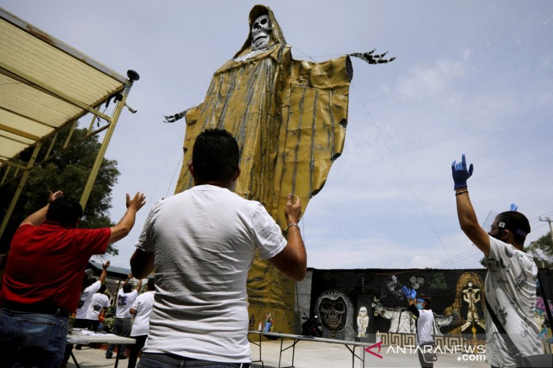 Meksiko catat lebih 9.000 kasus baru corona untuk pertama kali