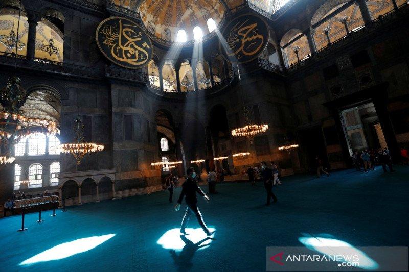 Pengamat: Hagia Sophia, Turki diuntungkan dalam politik internasional