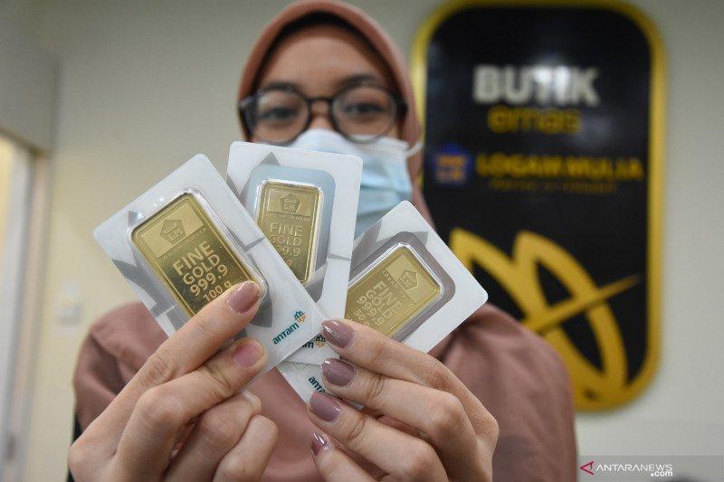 Naik Rp6.000, harga emas Antam hari ini Rp1.037.000/gram