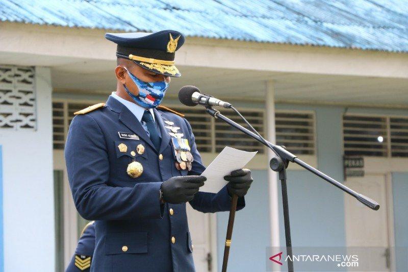 Pangkalan TNI AU Silas Papare siap dukung adaptasi kebiasaan baru