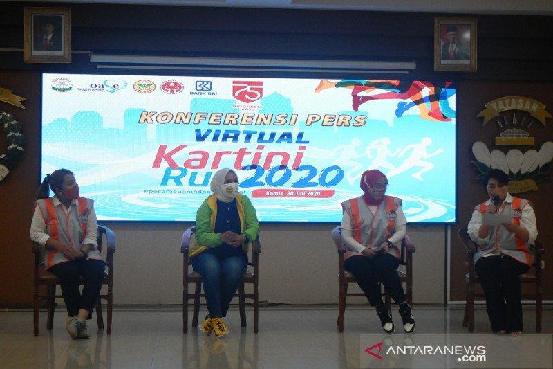 Kartini Run 2020 bakal digelar secara virtual 2 Agustus mendatang