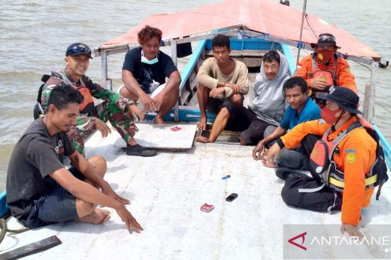 Kapal hilang kontak ditemukan sedang lego jangkar di Tanjung Mor