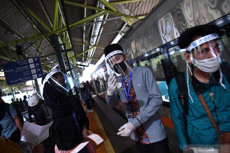 Arus balik Idul Adha, 3.200 penumpang KA tiba di Jakarta