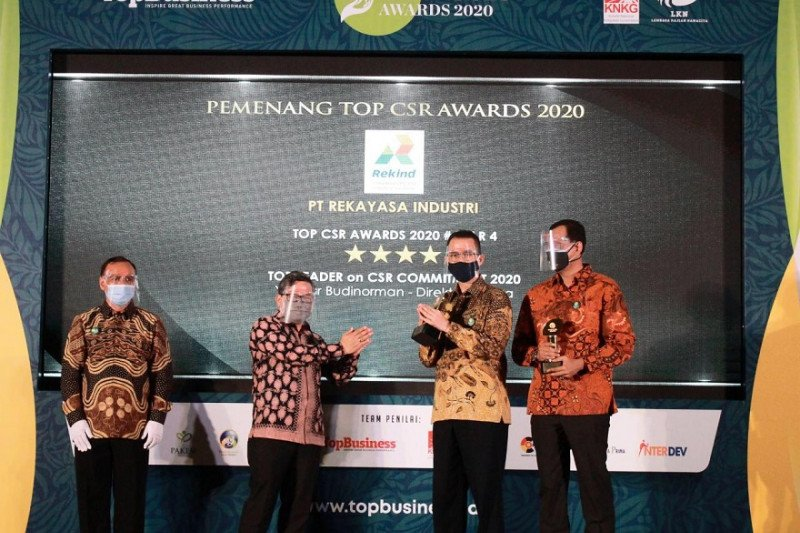 Rekind raih dua penghargaan Top CSR Award 2020