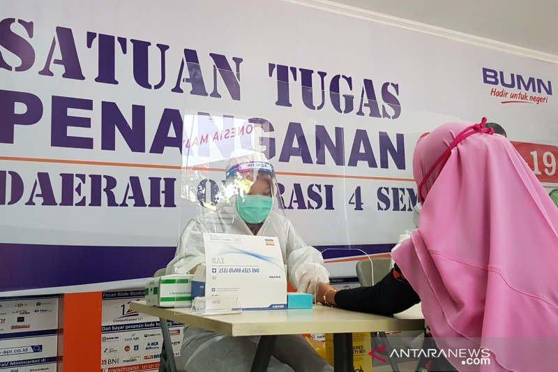 Stasiun KA Tawang-Semarang sediakan layanan tes cepat COVID-19
