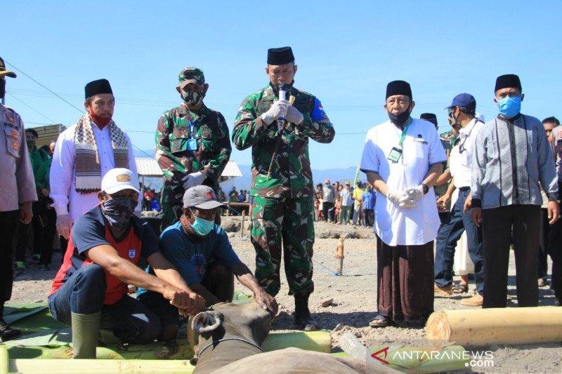 Kasad serahkan 16 sapi kurban untuk masyarakat Pulau Bungin Sumbawa
