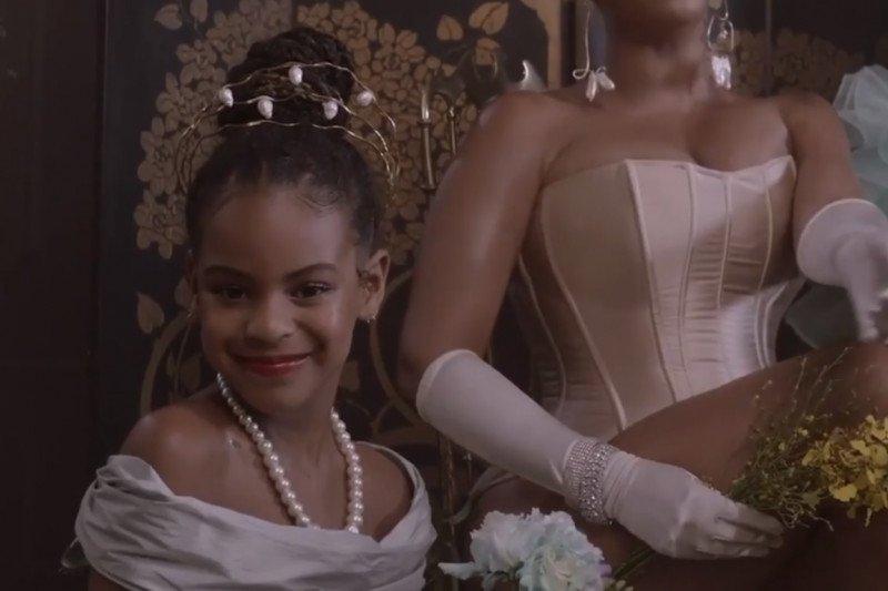 Blue Ivy tampil di video visual album Beyonce